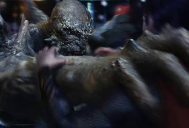 Doomsday-Vs-Superman Final by vshen