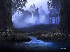 Castle Falls by Hythshade