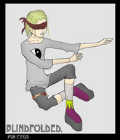 Blindfolded by pun