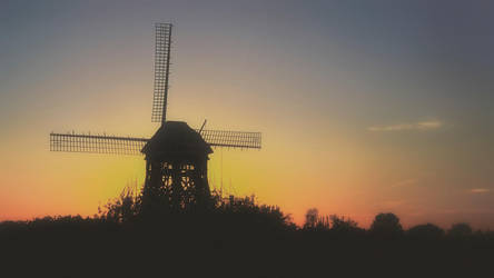 Windmill under construction by Witoldhippie