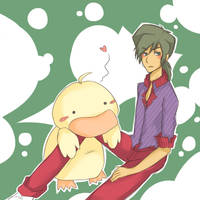 Duck Love by Totalutterchaos2