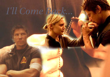 Sam Anders and Starbuck BSG by Drasi