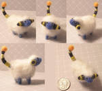 Needlefelt mareep by Zinkyu