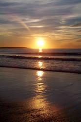 The Start of the Sun by jennifermmr