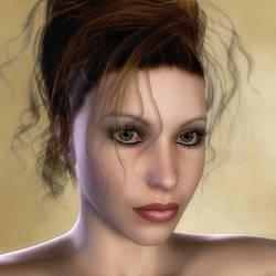 Simple portrait by SorchaRavenlock