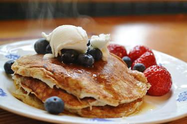 Happy Pancake by Thamaleia
