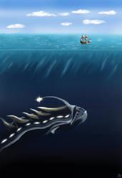 Lhurma, ruler of the Depths by Edstroem