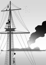 Treasure island by Jikasan