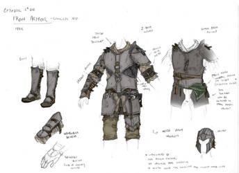 Cyrodiil 4th Era : Iron armor (male) by Galhaad