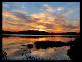Saranac Sunset 1 by coldshadows