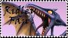 Brawl: Ridley Fan Stamp by WolfTwilight