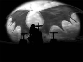 Angel of the dark by caraokulta