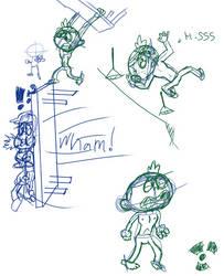 BeastColn Sketch Dump by Shawnlabomb