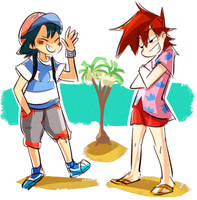 alola kids by coffeebandit