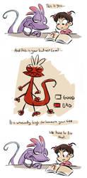 lizard of badness by coffeebandit