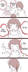 Sasuke first reaction by Makinonh