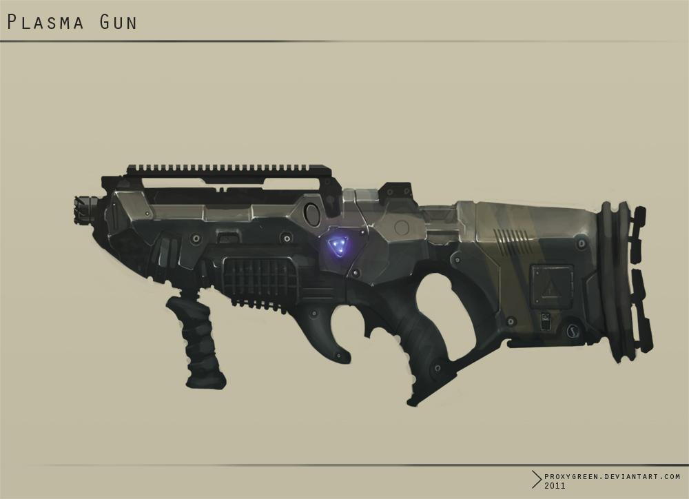 Plasma Gun by ProxyGreen