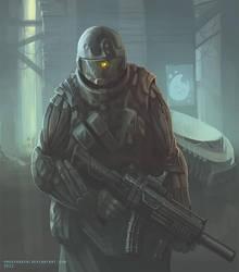 Cyber trooper 4 by ProxyGreen