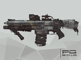 NeedleGun concept by ProxyGreen