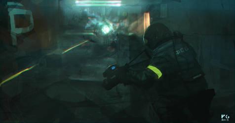 Combat 4 by ProxyGreen