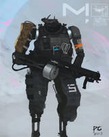 Robot concept by ProxyGreen