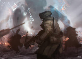 The War of the Worlds by ProxyGreen