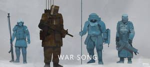 War Song - concepts I by ProxyGreen