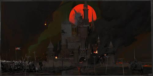 Dark stronghold by ProxyGreen