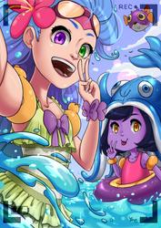 LoL: Poolparty time! by Konoko-Yoyo-Tsuke
