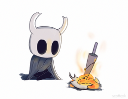 Hollow Knight by scottcok