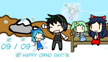 09/09 Cirno Day by Zerorium