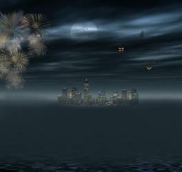 New_York_Fireworks by SinCityGirl73