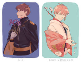 Flower boys by yuutomin