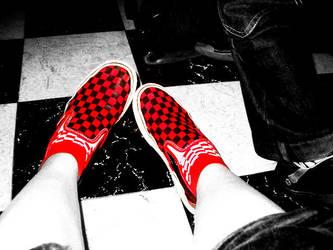 my shoes by GODDAMNGODDAMN