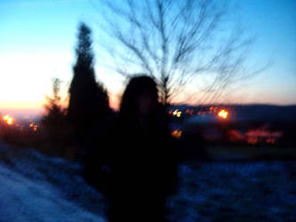 on a cold evening by GODDAMNGODDAMN