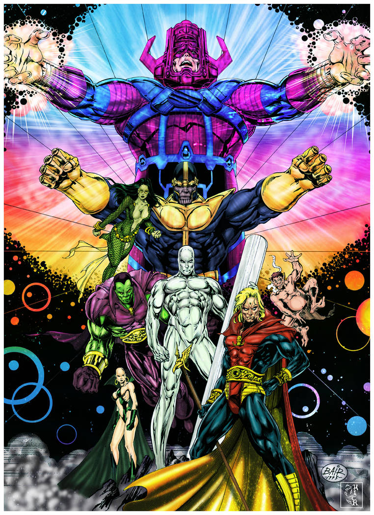 MARVEL UNIVERS by Mich974