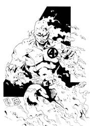 HUMAN TORCH by Mich974