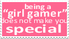 Girl Gamer by Stampedes