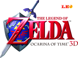 Ocarina of Time 3D Logo by Link-LeoB