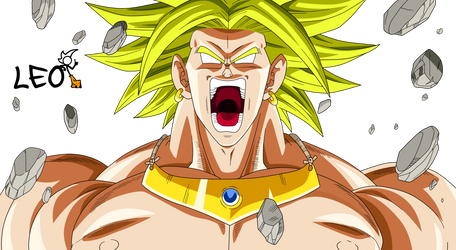 Angry Broly by Link-LeoB