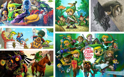 The Legend of Zelda 25th Anniversary by Link-LeoB