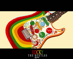 Guitar ROCKY - beatles by viperR