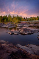 Autumn Twilight by Omelettu
