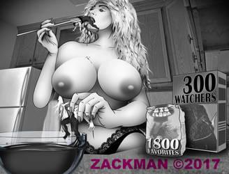 Zackman Giantess 19 by gruffmcmilitary