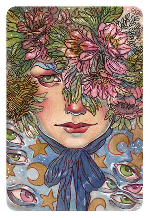 Flowers and Stars by mahtte