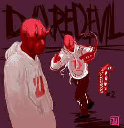 daredevil redesign (adventures in sai pt i) by GEATHJERK
