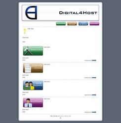 Digital4Host page by vaksa