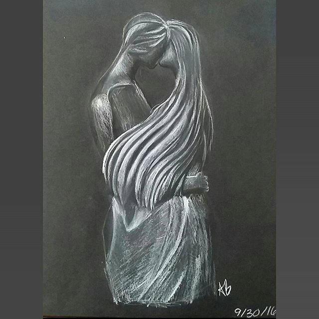 Parents Statue by lylah-draws