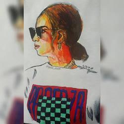 Beyonce by lylah-draws