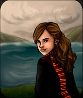 Hermione By The Waterside by Until-The-Dark